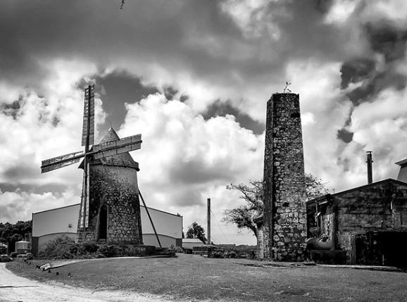 Distillerie Bellevue à Marie-Galante